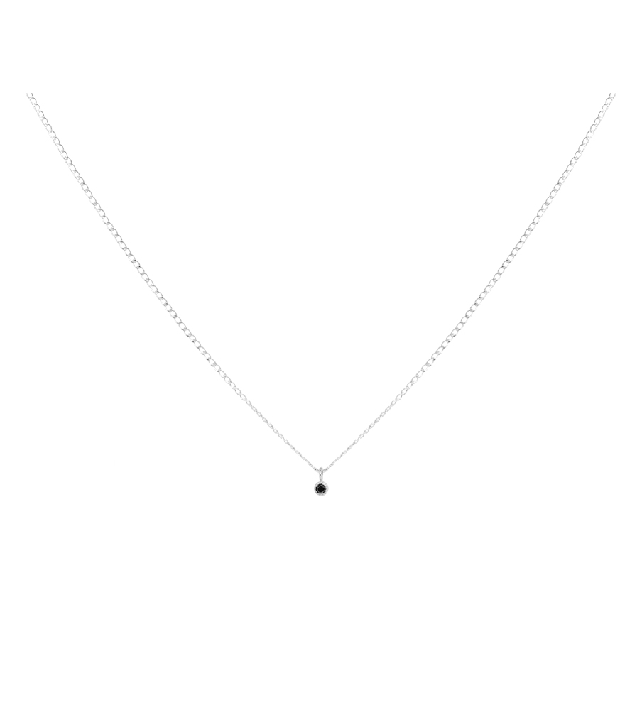 ketting-zilver-charmy-black-productfoto